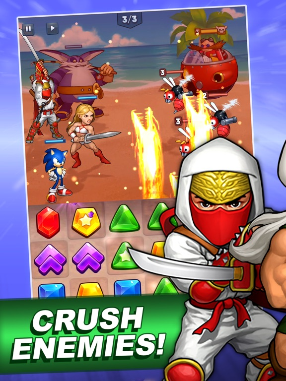 SEGA Heroes: Match 3 RPG Game screenshot 10