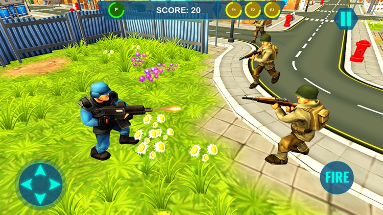Modern Army Commando game by Akhyar Habib