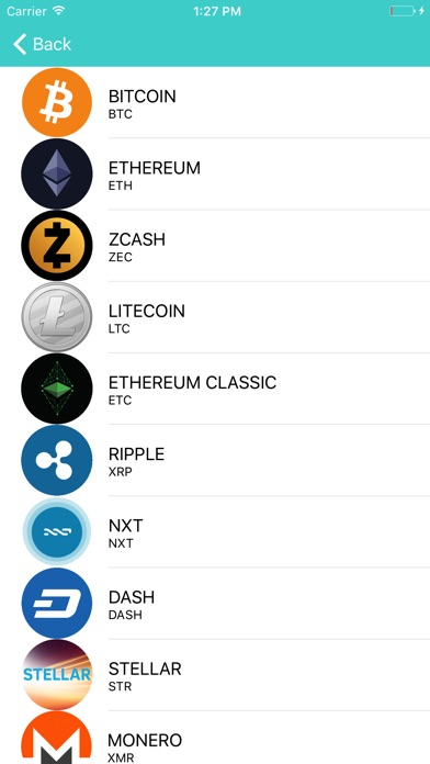 Screenshot #4 for ALL CRYPTO - crypto currency converter