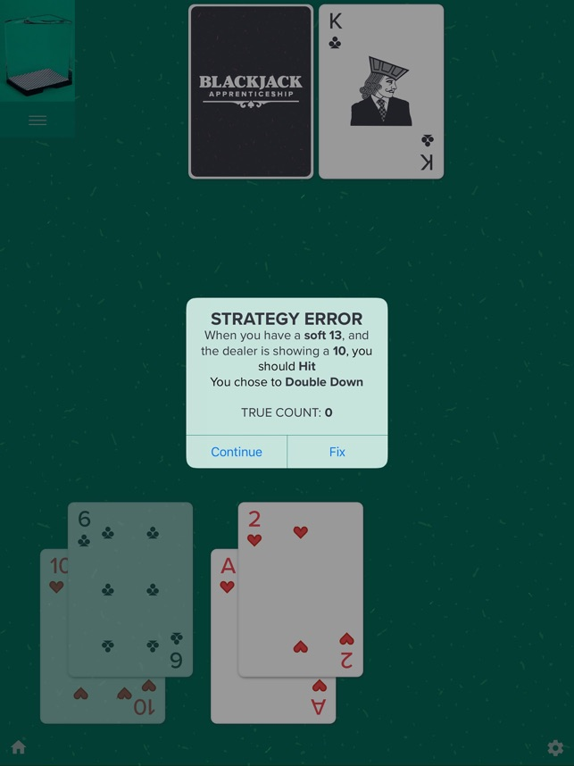 Blackjack card counting trainer app card game in which punters gamble against the banker