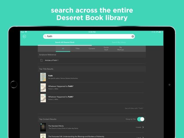 Deseret Bookshelf LDS Books On The App Store