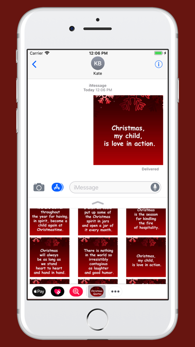 Christmas Quotes pack screenshot four