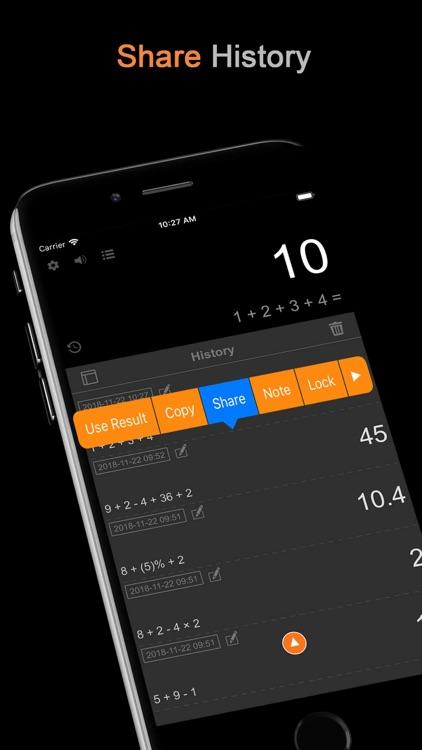 DayCalc Pro - Note Calculator screenshot-5