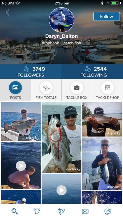 drophook Fishing App screenshot-4