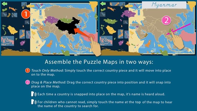 Asia - Montessori Geography screenshot-3