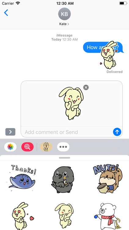 Aminal Cute Sticker screenshot-4