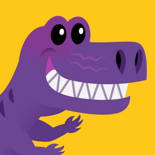 Dino Sight Words: Kindergarten Learning Game iOS App