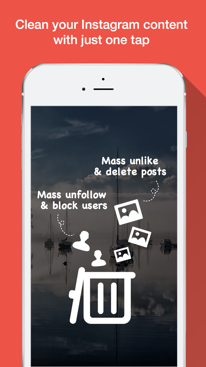 Clean it Up - Mass Unfollow & Unlike & Repost Screenshot