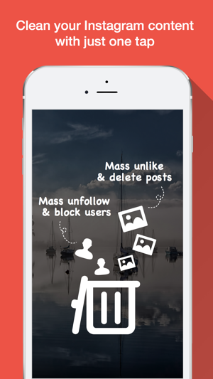 ‎Clean it Up - Mass Unfollow & Unlike & Repost Screenshot