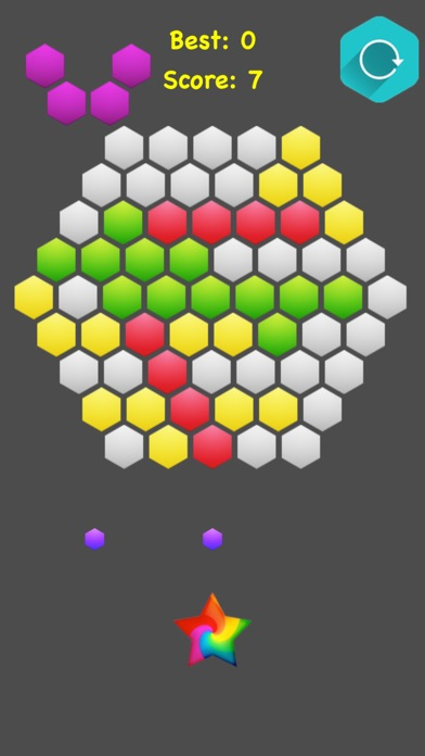 !Hexagonal Merge - Premium screenshot 2