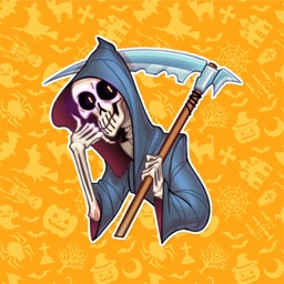 Halloween Skull Stickers Pack!