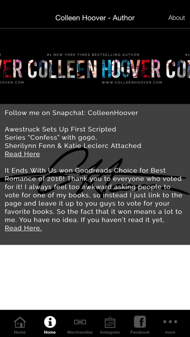 Colleen Hoover - AuthorScreenshot of 2