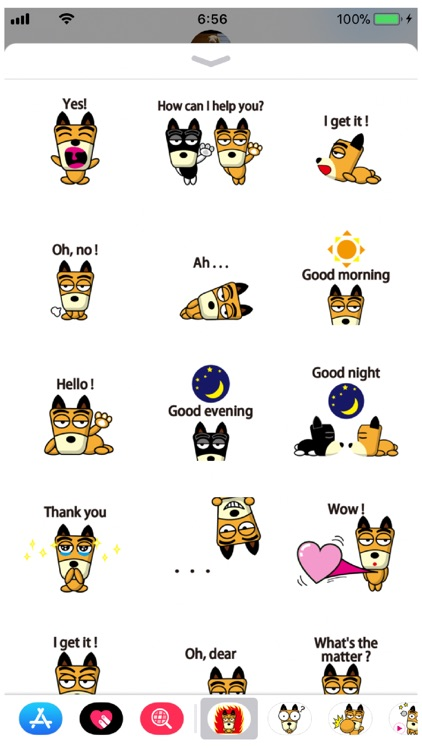 TF-Dog 3 Stickers screenshot-4