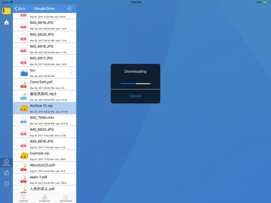 iZip - Zip Unzip Unrar Tool iPad