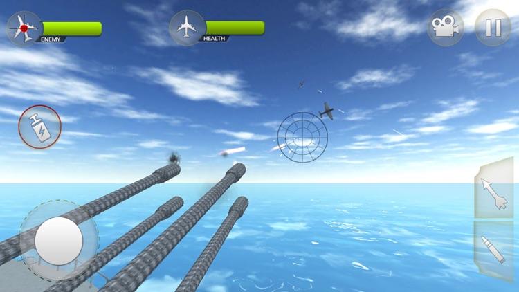WW2 Airplane Navy Survival screenshot-3