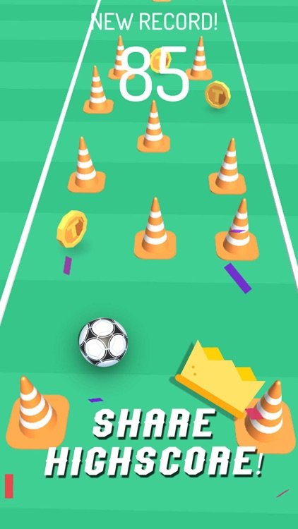Soccer Drills: Kick Tap Game