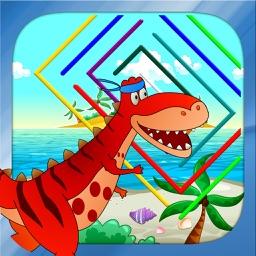 Dino Maze: Dinosaur mazes game for kids & toddlers