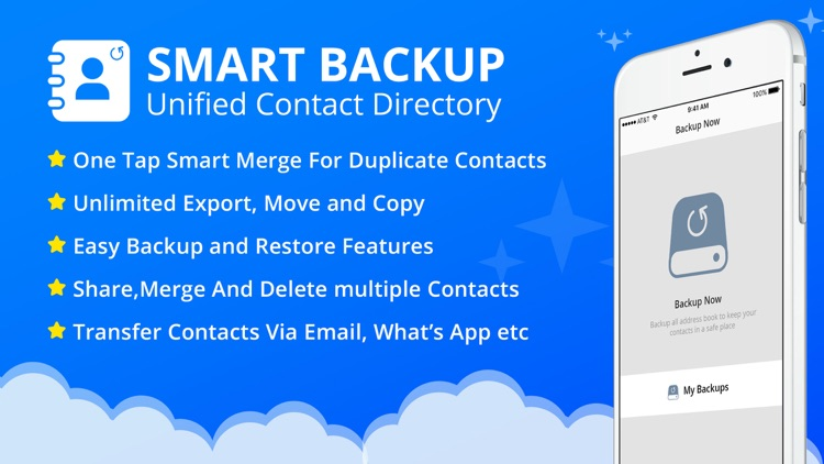 Contacts Backups & Restore