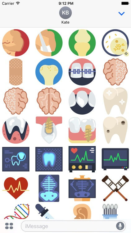 Medical Sticker Pack