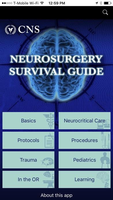 Neurosurgery Survival Guide review screenshots