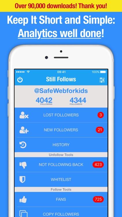 Followers Tracker on Twitter