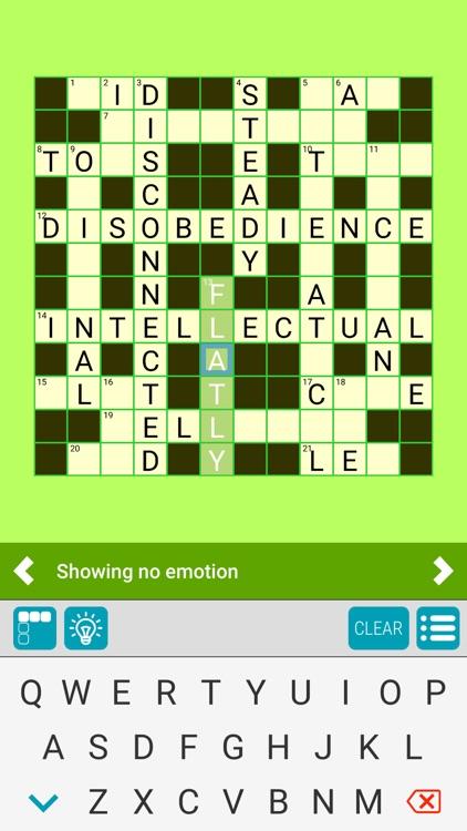 Crosswords 4 Casual screenshot-8