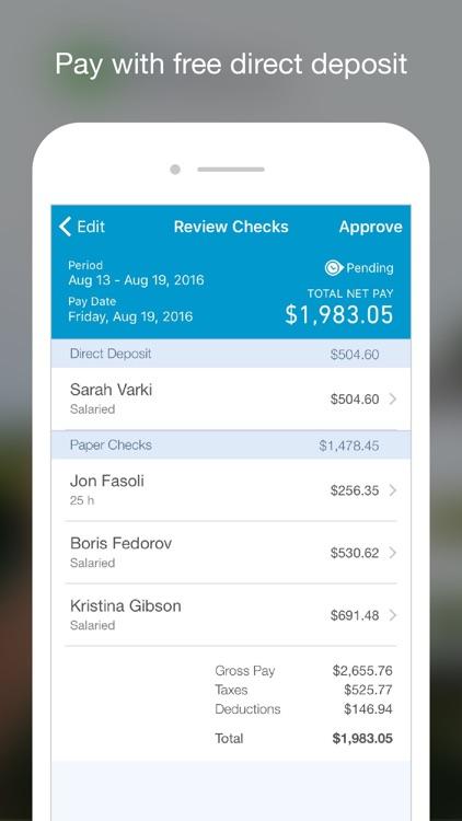 Online Payroll for Employers screenshot-3