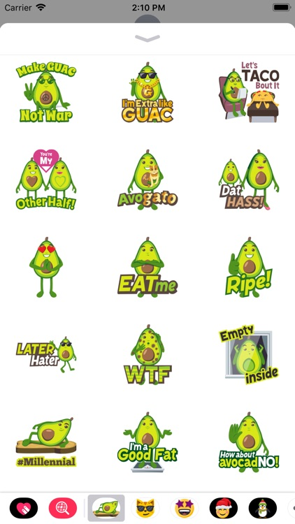 Avocado Adventures by EmojiOne