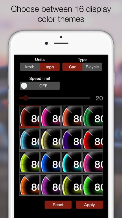 GPS Digital Speed Tracker Pro screenshot-3