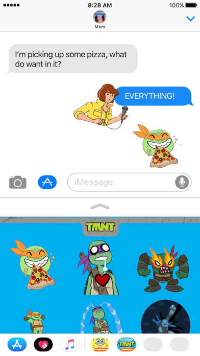 TMNT Stickers for iMessage screenshot 4