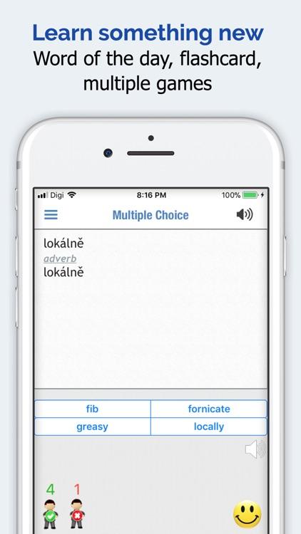 Czech Dictionary Elite screenshot-4