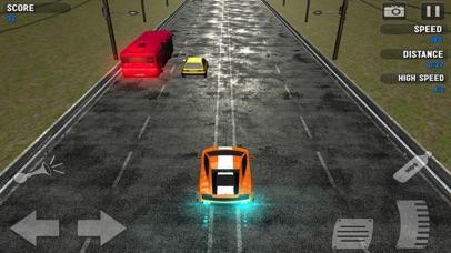 Racing Traffic Car Tubor screenshot two
