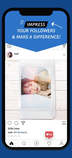 Instants - Instant Photo Maker Screenshot