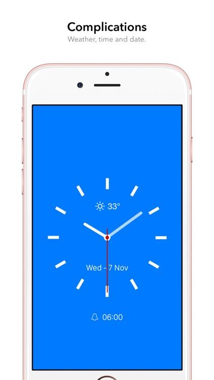 FaceClock Pro - Analogue Clock screenshot-3