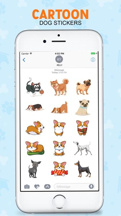 The Cartoon Dog Stickers