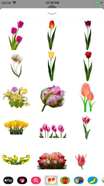 Terrific Tulip Stickers