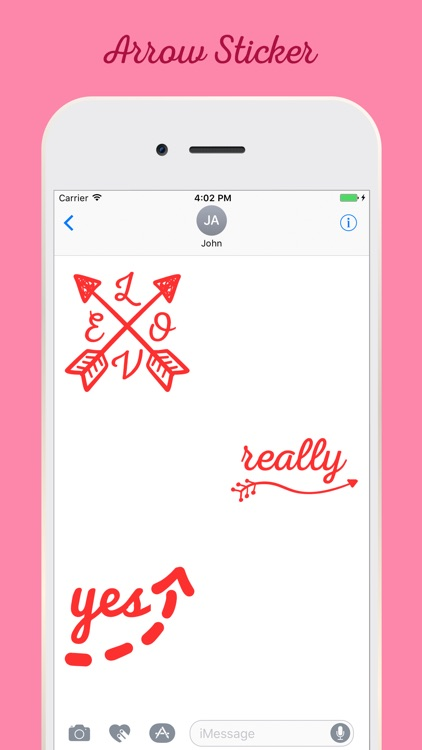 Arrow Stickers For iMessage