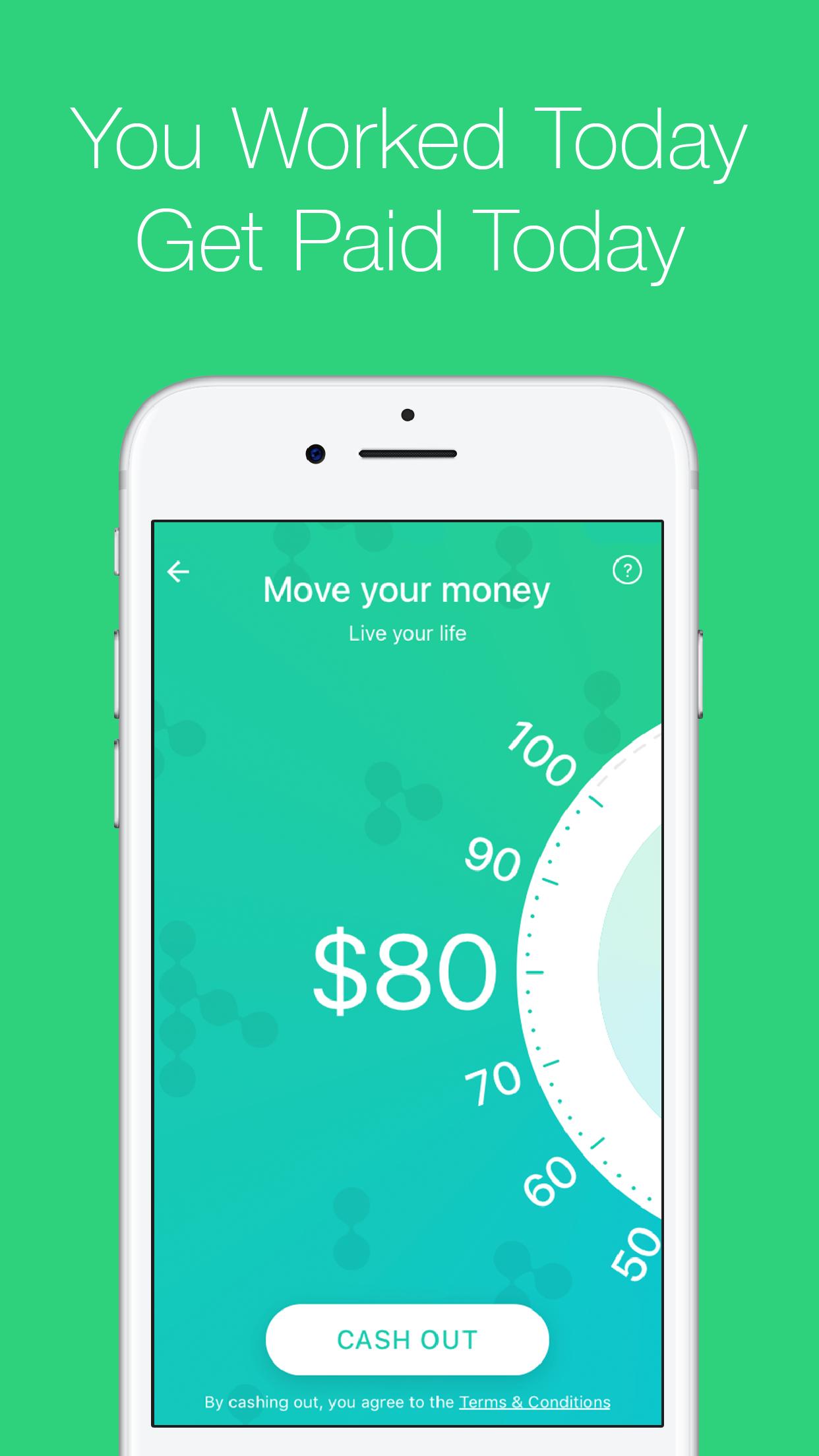 Earnin - Get Paid Today Screenshot