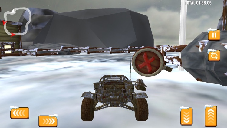 Snow Buggy Car Quad Race Pro screenshot-4