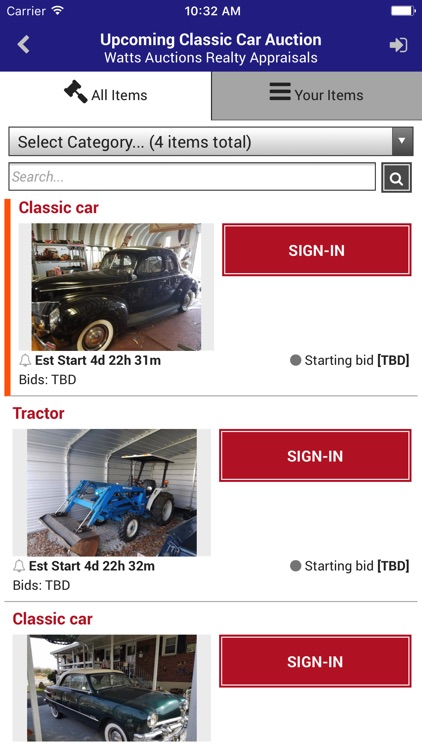 Watts Auctions screenshot-3