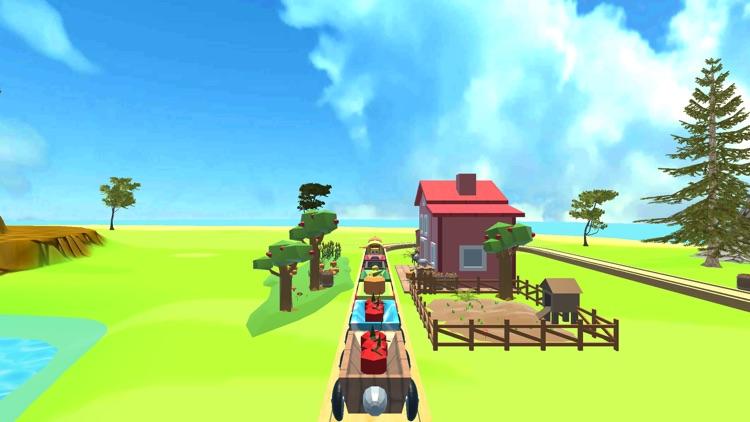 Baby Train 3D Premium