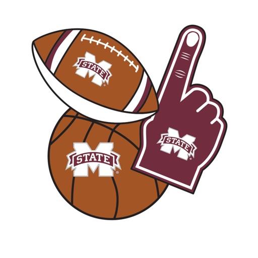 Mississippi St Bulldogs Selfie Stickers