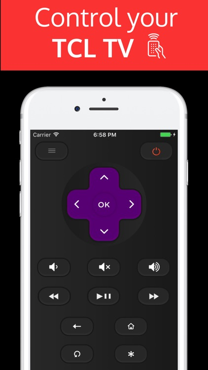 TCLee : Remote for TCL ROKU TV screenshot-0