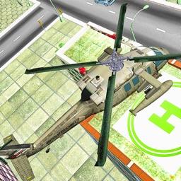 Helicopter Stunts & Landing 3D