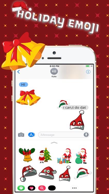 Christmas Holiday 3D Emoji