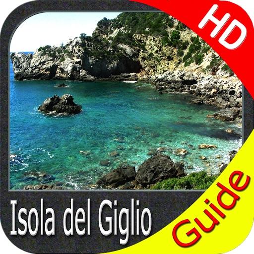 Marine: Isola del Giglio HD - GPS Map Navigator