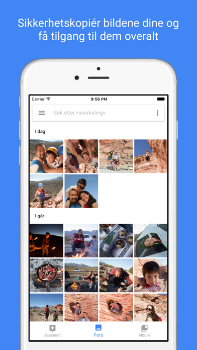 Screenshot for Google Foto in Norway App Store
