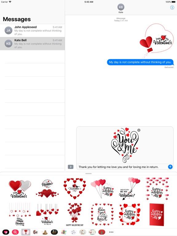Love & Valentine Message screenshot 7