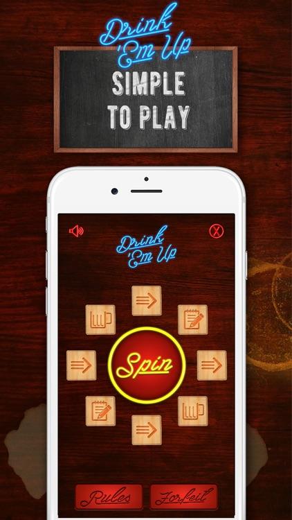 Drink Em Up Drinking Game screenshot-0
