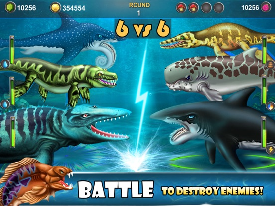 Dino Water World-Dinosaur game-ipad-1